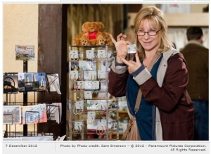 """Babs as """"Joyce."""" Photo clipped from Rotten Tomatoes."""